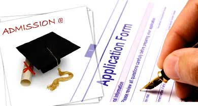 ADMISSIONS for PG courses